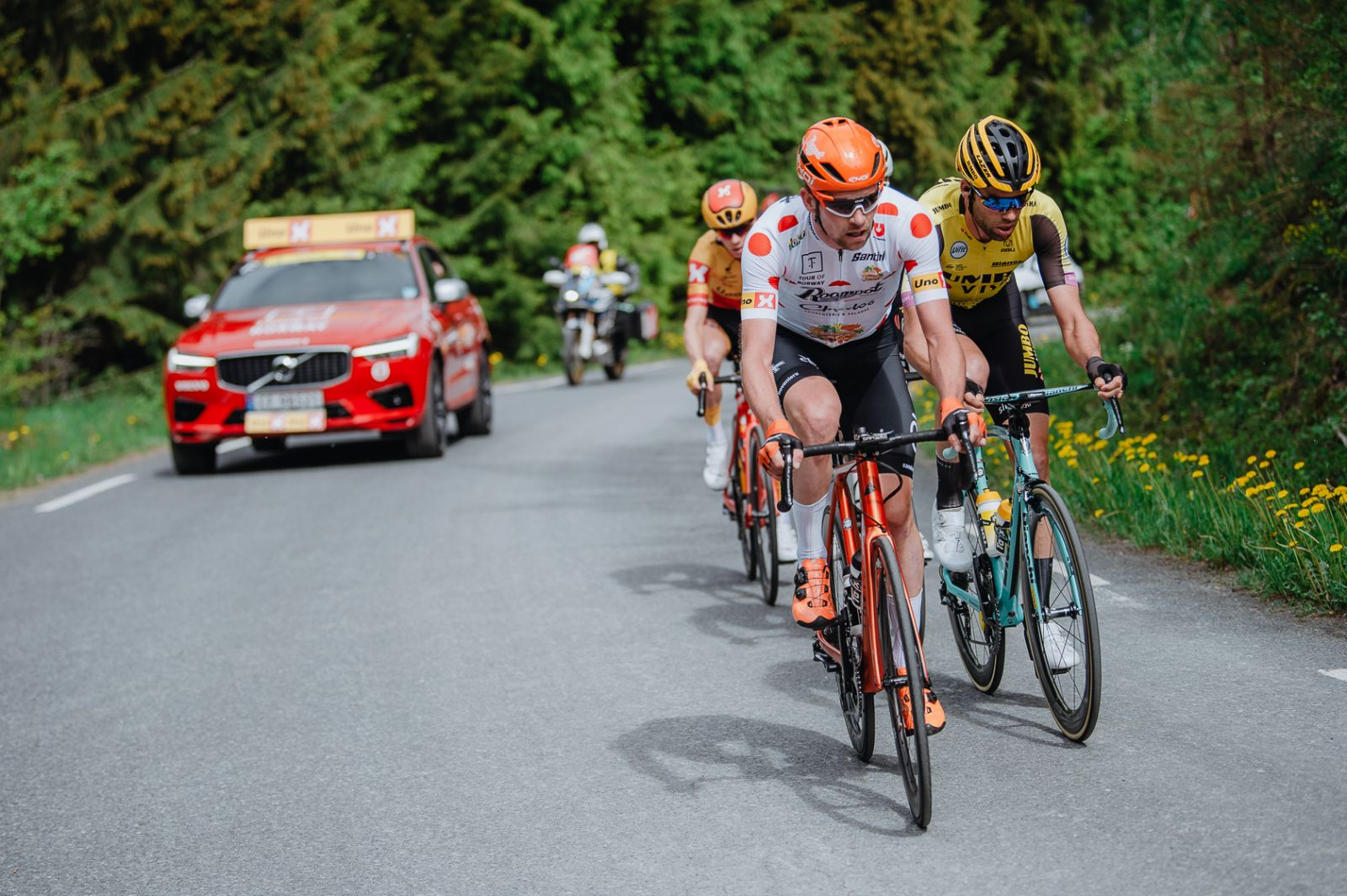 How the 2019 climber's jersey was won: the breakaway technique