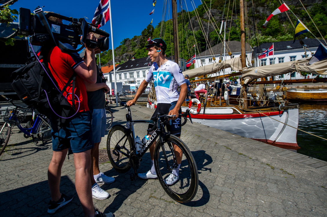 Tour of Norway vil vises over hele verden!